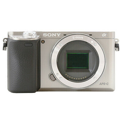 Sony Alpha a6000 Mirrorless 24.3MP Digital Camera Body Silver