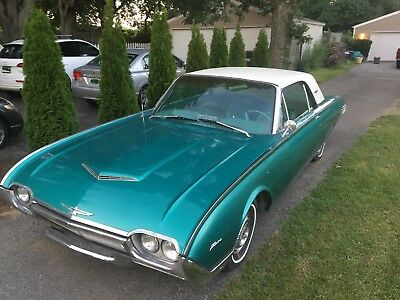 1961 Ford Thunderbird  1961 Ford Thunderbird Coupe 390 V8 – Fresh Rebuilt Motor
