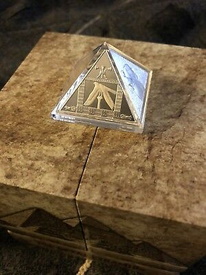 2014 Niue 3oz Silver The Great Pyramids Proof Coin