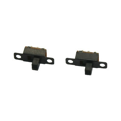 2 x Mini 3 pin Slide Switch - toy switch - SPDT - light on off - projects