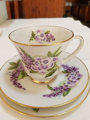 Noritake Cup, Saucer and small plate