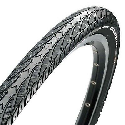 2 x (Pair) Maxxis Overdrive Road / Hybrid Bike Tyres 700 x 38C