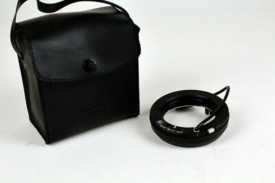 Canon Flash Auto Ring B2 with case - Tested