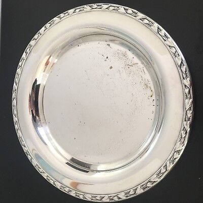 """Vintage Meadowbrook WM A Rogers 9"""" Dish Silverplate"""