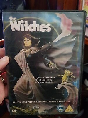 The Witches -  DVD  - FREE POST