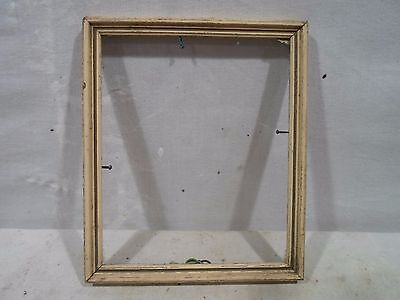 Mid century modern picture frame, 4.75  X 5.75 inches, # 1156  great patina!!!
