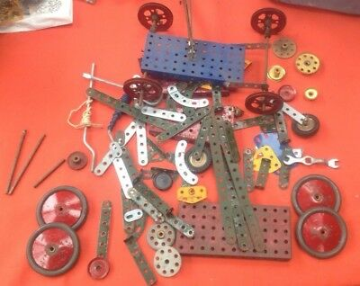 Meccano Vintage No Box , Complete?? Early parts here