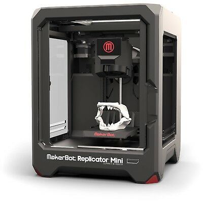 NEW MakerBot Replicator Mini 3D Printer 12 Mths Manufacturers Warranty PC & Mac.