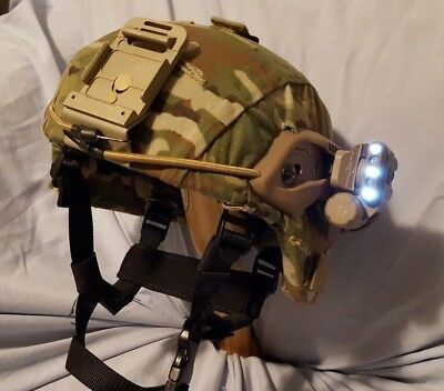 Military Ballistic Helmet ACH Reconditioned W/ NEW Special Operation Accessories
