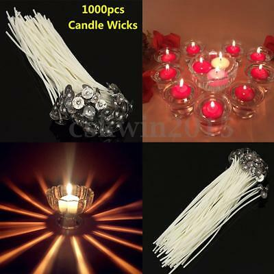 Candle DIY Waxed Sustainers With 100PCS 9/10/15/20 cm Wicks Pre Cotton
