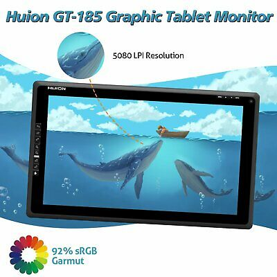 "Huion Graphics Tablet  Monitor 1080P HD HDMI 21.5"" Display Screen GT-220 V2 AU"