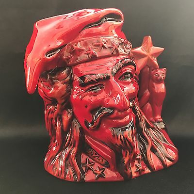 Royal Doulton Character Jug-RARE- The Wizard Flambe #84/250