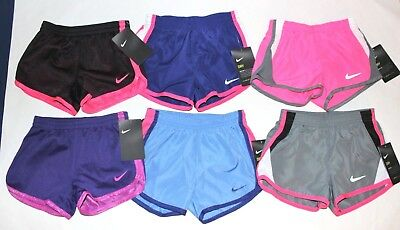 Toddler Girls NIKE Shorts 3T or 4T You pick color + style NEW w tags