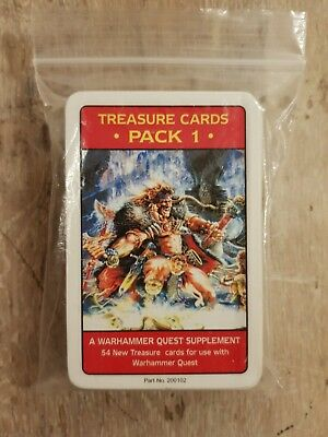 Warhammer Quest: Treasure Card Pack 1 Complete