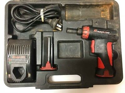 **Snap On Cordless Screwdriver 7.2V CTSA561CL with 2 batteries, case and charge*
