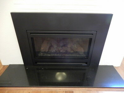 HEAT N GLO GAS FIRE, REMOTE CONTROLLED, 5k