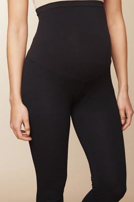 Motherhood Maternity Secret Belly Fit Ruched Maternity Leggings Size L NWT