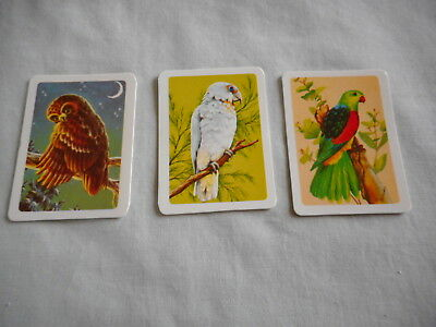 Australiana Bird Studies Collectors Cards Nos 70, 100 and 102 A total of 3 cards