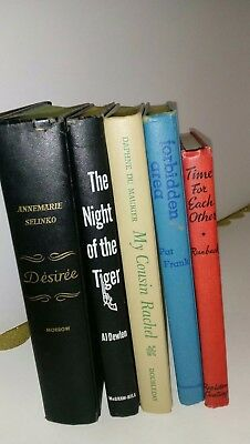 Vintage Books. Lot of 5. 1944-1956 HC's Collectibles