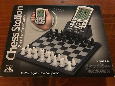 Excalibur Chess Station 2-in-1 Electronic Chess Computer - Free Post
