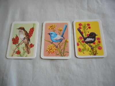 Australiana Bird Studies Collectors Cards Nos 223, 228 and 229