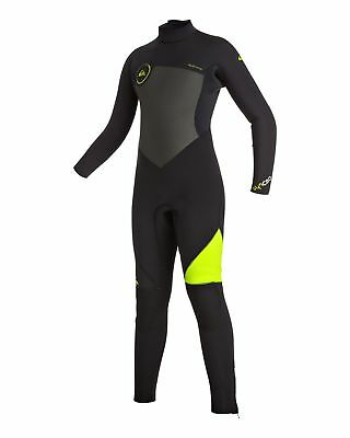 NEW QUIKSILVER™  Boys 8-16 Syncro 4/3MM GBS Steamer Wetsuit 2017 Boys Teens Ski