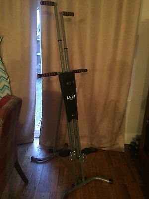 MaxiClimber Vertical Home Workout Stepper Fitness Machine USED ONCE