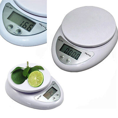 5Kg 1G Digital Kitchen Food Diet Postal Scale Electronic Weight Balance Aa3