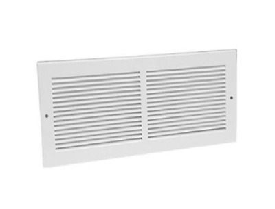 20 x 8 in White Return Air Vent Ventilation Grille Wall Register HVAC Cover New
