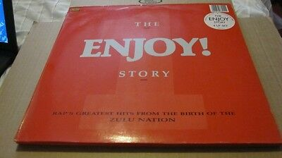 """the Enjoy Story"" 4 Lp Vinyl Set, Rap's Greatest Hits - Birth Of The Zulu Nation"