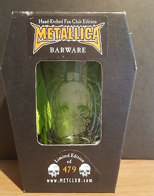 metallica pushead glass promo not knob