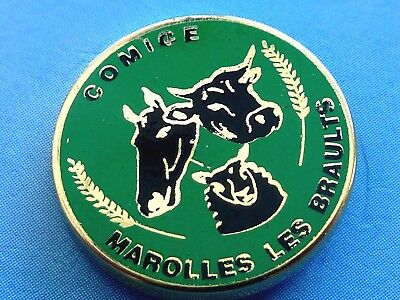 Pin's Animaux  Vache Comice Marolles Les Braults Sarthe