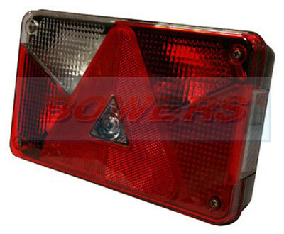 Aspock Multipoint 5 V Rear L/H Tail Light Lamp Brian James Ifor Williams Trailer