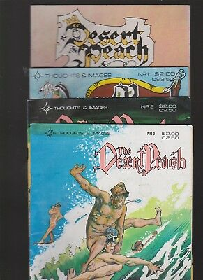 The Desert Peach 4 early issues 1 2 3 and 21