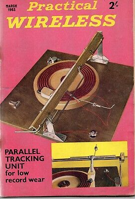 Practical Wireless Magazine March 1963. Parallel Tracking Unit.
