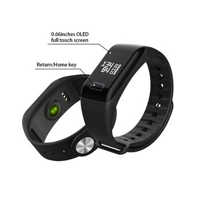 Smart Watch Bracelet Heart Rate Activity Monitor Fitness Tracker Blood Pressure