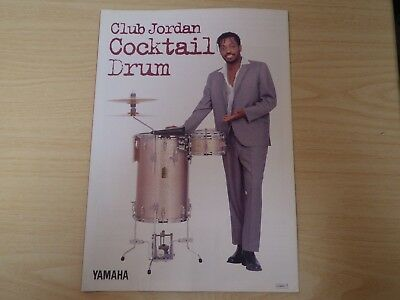 Yamaha cocktail drum catalog from japan 90's