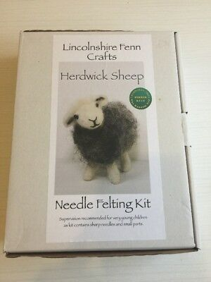 Needle Felting Kit Herdwick Sheep Lincolnshire Fenn Crafts Crafting
