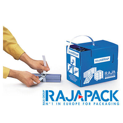 Rajapack 16mm x 200M 430kg Rajastrap Corded Polyester Strapping Kit