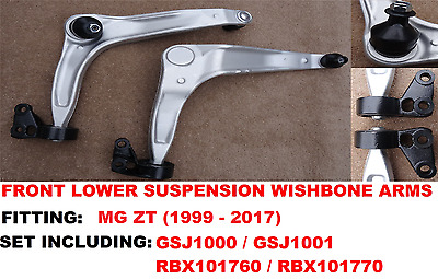 *mg Zt* (1999-2005) Front Lower Wishbone Suspension Arms & Bush Set