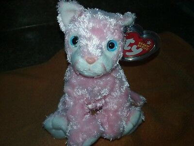 """Ty Beanie Baby 2002 """" Carnation  """" The Cat"""
