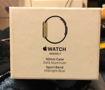 Apple Watch Series 2 42mm Gold Aluminum Empty Box Only NO WATCH