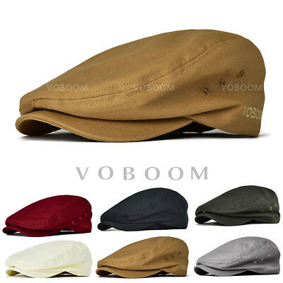 2653c13db2e 100% Cotton Ivy Caps newsboy caps cabbie hat Stylish Flat cap Classic  Gatsby hat