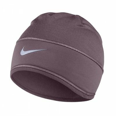 55bf1f0c090 New Tags Nike Women s Running Training Beanie Skully Hat Cap Purple Dri Fit