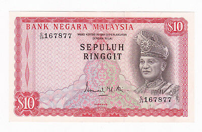 Malaysia 2Nd Series 10 Ringgit Banknote [Good Extremely Fine Condition] [F/ship]