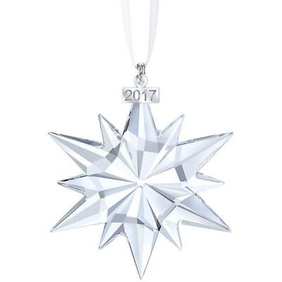 NEW 2017 Snowflake ANNUAL EDITION LARGE CHRISTMAS CRYSTAL #5257589 GIFT ORNAMENT