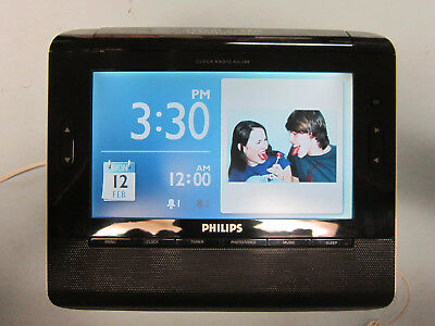 Philips AJL308 Digital Clock and Photo Frame (7 inch)