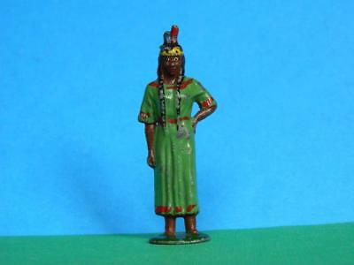 VINTAGE 50s TIMPO LEAD RARE NORTH AMERICAN NATIVE INDIAN SQUAW WILD WEST SERIES