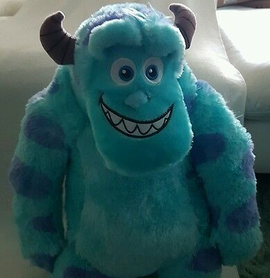 """Sulley from Monsters Inc 21"""" plush soft toy by Disney Pixar NEW"""