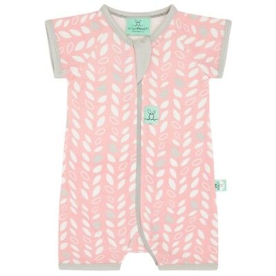 ergoPouch Layers Short Sleeve Sleep Wear (0.2 Tog) - Spring Leaves, AGE - 1 YEAR